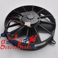 auto condenser - Auto Condenser cooling Fan HKCF2202 Assembly for kinglong bus air con parts