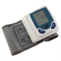 Wholesale 200 peças automatique numérique poignet tensiomètre Heart Beat compteur Sphygmomanometer prévenir l hypertension livraison gratuite