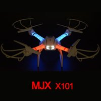 Wholesale MJX X101 G Axis Gyro Headless D Roll One Key Return RC Quadcopter RC Helicopter