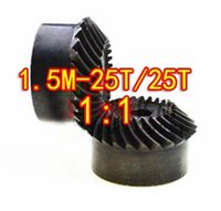 Wholesale 1 M T Precision Helical Spiral Bevel Gear Dimaeter mm