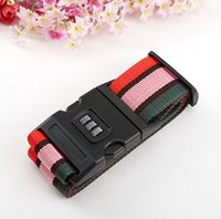 Wholesale F09099 Travel Luggage Belt Suitcase Strap Secure Password Lock Safe Belt Strap Baggage Backpack Belt Freepost
