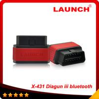 achat en gros de x431 en ligne-2015 Top vente X431 Diagun III Bluetooth mise à jour mise en ligne x-431 diagun iii de haute qualité En stock