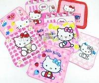 Wholesale X20 cm Hello Kitty Kawaii children s cartoon towel comfortable soft adult students