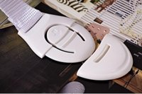 Precio de Armarios niños-2016 NUEVO Holesale 21cm Cuidado del bebé del niño Cuidado del bebé Cerradura de la caja de seguridad para el gabinete Cajón Armario Puertas Refrigerador Inodoro