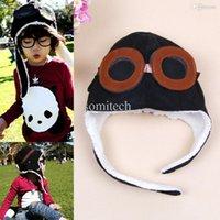 aviator scarf - Super Cute Brown Black Cool Baby Toddler Boy Girl Aviator Warm Cap Hat Beanie Colors