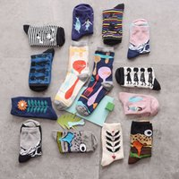 army story - new arrive creative cartoon story cotton socks for men and women fashion casual brand couples tide socks pairs