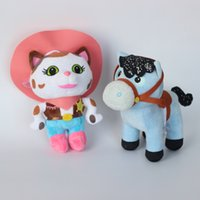 horse doll - Newest Arrival Sheriff Callie s Tales of the Wild West Plush Toy Sheriff Callie Cat and Horse Stuffed Dolls Classic toys