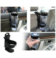 Wholesale Universal Drinks Bottles Cups Holder Stand Mount Newest Cups Support Black For Auto Car Vehicle