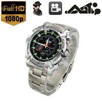Wholesale 8GB P SPY Hidden Mini DV Steel Sport SEX Wrist Watch Digital Video Camera CH