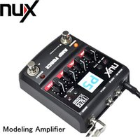 amp modeling - NUX Guitar AMP Force Modeling Amplifier Simulator Electric Effector Pedal Models band EQ Color Screen Top Quality