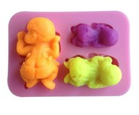 baby jello - 1Pcs Baby Shape Chocolate Candy Jello D Silicone Mold Mould Cake Tools Bakeware Pastry Bar Soap Mold Freeshipping