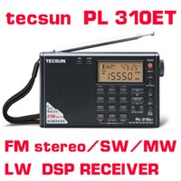 Wholesale Tecsun PL310ET Full Band Radio Digital Demodulator FM AM Stereo Radio TECSUN PL