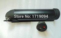 battery capacity conversion - 350w high capacity water bottle battery v ah lithium battery Sanyo cells v w fun mid motor BBS01 e bike conversion kit