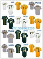 Unisex baseball drawings - 2016 New Oakland Athletics Baseball Jersey Drew Pomeranz Brett Lawrie Billy Butler Jersey White Grey Green