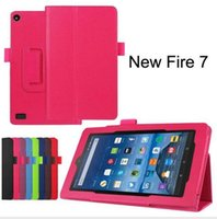 amazon wallets - For Amazon New Kindle Fire HD8 Version Tablet Cover PU Leather Case Stand Flip Folio Wallet Book Cover