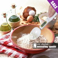 Wholesale Sale New measuring spoon Electronic Digital measuring spoons with scale for cooking new kitchen scale tools