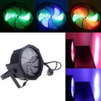Wholesale 192pcs RGBW LED Stage PAR Lighting DMX512 Strobe Channel Party Disco Show W AC V Stage Lights Lamp US EU Plug