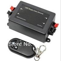 Wholesale 1 channel Wireless Remote RF LED Light Strip Single Color Dimmer Controller V V V lt W V lt W order lt no track