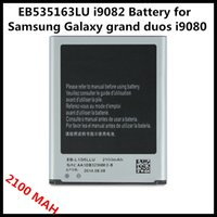 Wholesale 2100mah EB535163LU i9082 Battery for Samsung Galaxy grand duos i9080 Batterie Bateria Batterij
