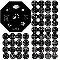 Wholesale QA series stencil printing press template reusable imaging plates DIY nail tools Duck QA