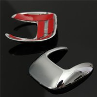 Wholesale NEW x Chrome Switch Cover Trim for Car Rear Door Window For Ford Escape Kuga small order no tracking