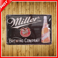 ads money - Brand New Miller Beer Retro Vintage Tin Sign quot x12 quot Metal AD Sign Bar Pub Garage Wall Decor Tin Plaque Metal Art Poster