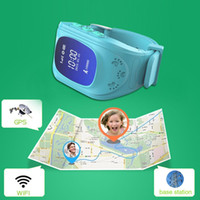 advanced wrist watch - Newest Advanced GPS Tracker Child Smart Watches Children SOS Smartwatches Satellite monitoring Double Locate Remote Monitor For Child Kid