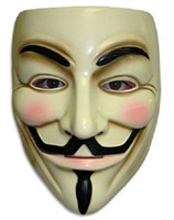 v mask - V for Vendetta Mask Anonymous Guy Fawkes Fancy Dress Adult Costume Accessory
