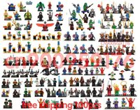 Wholesale 100pcs marvel super hero spiderman hulk Figures Building Blocks