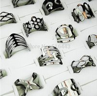 mens jewelry lot - 2014 New Arrival Promotions Mix Style Adjustable Black zinc Plated Women Mens Rings Toe Rings Jewelry A281