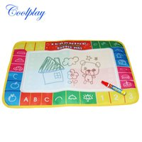 Wholesale pack holiday sale CP1368 X29cm Water Doodle Mat with Magic Pen Drawing Toys Mat Aquadoodle Drawing Mat