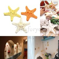 Wholesale 3 pieces Natural Artificial Starfish Platform Ornament Accessories wedding decoration Wishing Bottle Adornment Material