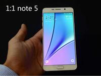 1: 3 GB ROM 1 Nota 5 Note5 teléfono elegante 5.5 pulgadas Quad Core MTK6582 Mostrar RAM 64GB Android Desbloqueado móvil 4G Celular
