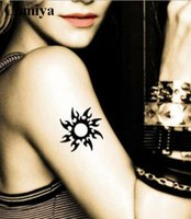 armed tribal - Tribal sun temporary tattoo sex products body art waterproof stickers fake tattoos wedding tatoo arm wrist tatto sticker women