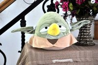 Wholesale EMS Star Wars Plush toys cm Yoda pillow cushion Star Wars pillow Christmas Gifts for Children C260