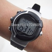 ads military - New TAG Heart Rate Monitor Cardiaco Pulse Calories Watch Digtial LED Clock Boys Montre Reloj Military Men Sport AD Watches Black