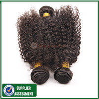Cheap Hot 7A malaysian curly hair 3pcs lot Color 1B Cheap unprocessed malaysian kinky curly virgin remy human hair extension