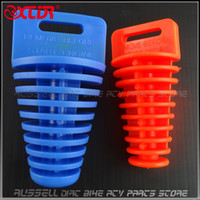 Wholesale Exhaust Stopper Muffler washing Plug for Wash to Dirt Pit bike Motorcycle Motorbike ATV Parts use big small