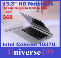 Wholesale DHL FREE inch laptop computer intel Celeron U GHZ Dual Core GB GB windows camera laptop notebook Resolution HDMI