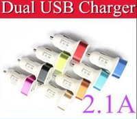 Car Chargers For Blackberry N Dual USB Charger Metal Auto Smart Car Chargers Adapter 2 USB Port Sync Charge For Samsung Galaxy Blackberry Nokia SONY LG S5 S4