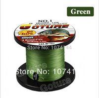 Wholesale 500M Goture Brand Super Strong Japan Multifilament PE Braided Fishing Line LB