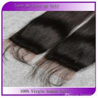 Wholesale Natural color lace hair pieces