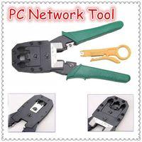 Wholesale Portable RJ45 RJ11 RJ12 Wire Cable Crimper Crimp PC Network Tool