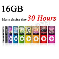 Wholesale NEW PLAYER MUSIC PLAYING TIME HOURS SLIM th GEN GB MP3 PLAYER SUPORT FM EBOOK VIDEO PHOTO MP3 COLORS