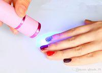 Cheap 300PCS HHA153 Portable UV Gel Polish LED Lamp Cure Torch Nail Art Tips Curing Tool High quality Hot Selling