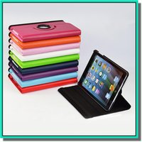 Wholesale 360 Degree Rotating Case Magnetic Stand Leather Smart Cover Wallet Flip Tablet Skin For iphonr ipad samsung tab3 p5200 tab4