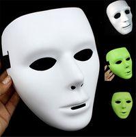 al por mayor máscara jabbawockeez mejor-100pcs mejores 2 colores precio Partido Máscara Jabbawockeez Mask Hip-Hop Partido Máscara Moda máscara de Halloween Thin aleatoria danza de máscaras de vestuario D369
