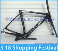 bike shop - hot shopping festival newest De rosa full carbon fiber road bike frame frameset seatpost fork clamp headset bike accessories