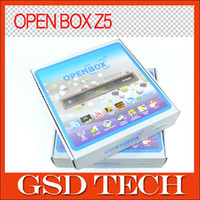 Wholesale Original Openbox Z5 upgrade from openbox x5 full HD IPTV Receiver support Youtube Gmail Cccam Newcamd