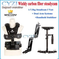 Wholesale Wieldy HD2600 kg Steadicam I Vest Dual Arm Systems Handheld Stabilizer for Video Camera DSLR Camera Video Steadycam